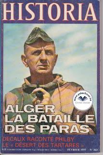 Revue Histoira,  Alger la bataille des paras