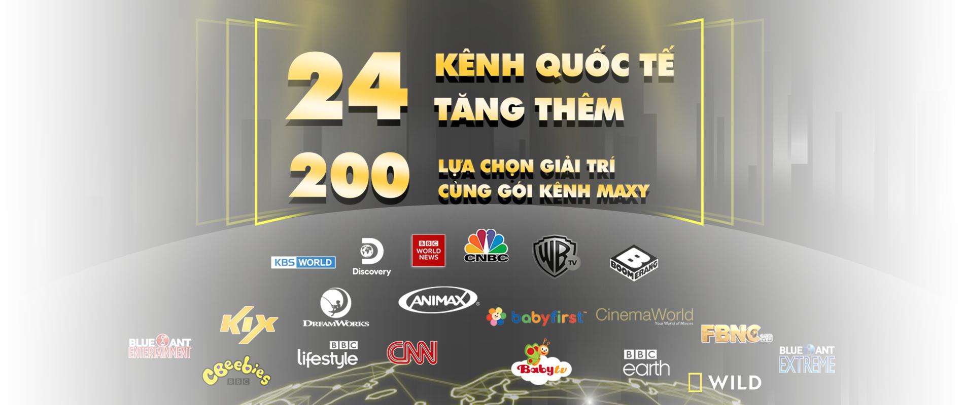 Xem hơn 200 kênh truyền hình cáp miễn phí trên gói MAX FPT Play