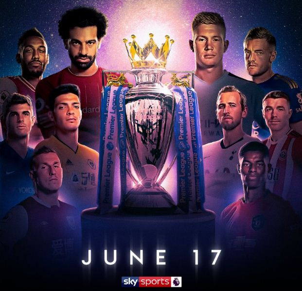 Liga Inggris Digelar Lagi 17 Juni 2020: Sajikan Bigmatch Man City vs Arsenal