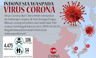 Pemerintah Indonesia  Telah Antisipasi Virus Corona