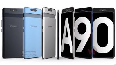 Official Renders Of Samsung Galaxy A90 5G Leaked