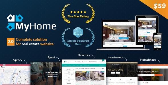 Real Estate Responsive WordPress Theme