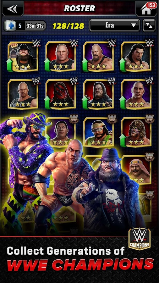 WWE Champions Free Puzzle RPG android apk games