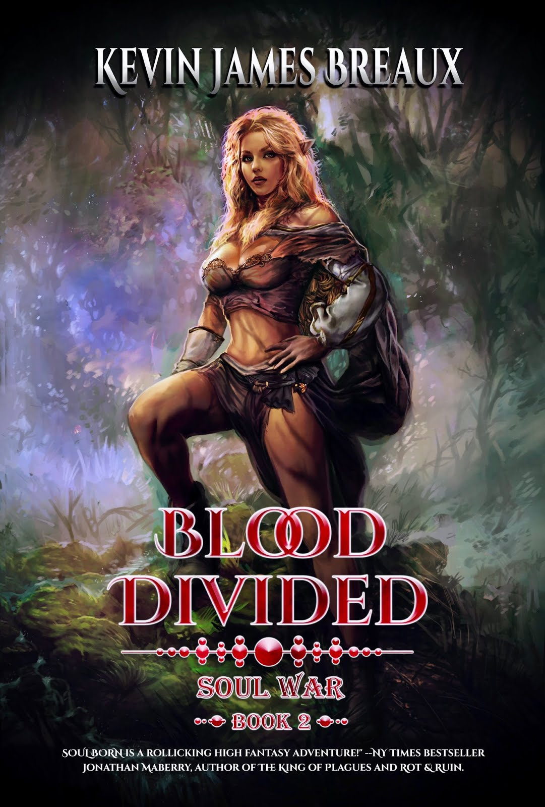BLOOD DIVIDED cover