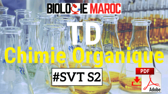 TD Exercices de Chimie Organique SVTU Semestre 2 PDF