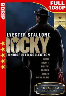 Rocky (1976-2006) Colección [1080p BDrip] [Latino-Inglés] [GoogleDrive]