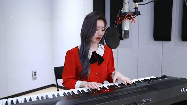 Twice Dahyun Feel Special Piano