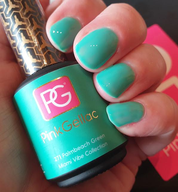 Pink Gellac - 271 Palmbeach Green - UV Nagellack
