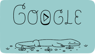 Google Doodle Rayakan 37 Tahun Taman Nasional Komodo