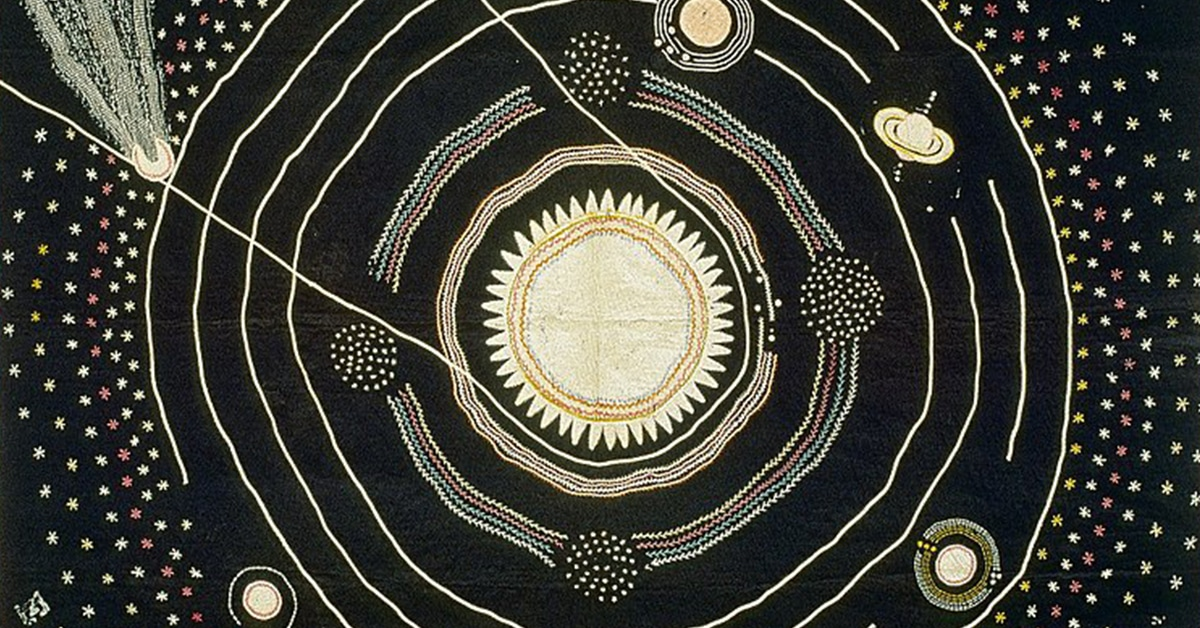 An Astronomy Teacher In 1876 Handcrafted This Quilt To Help Her Teach Her Students