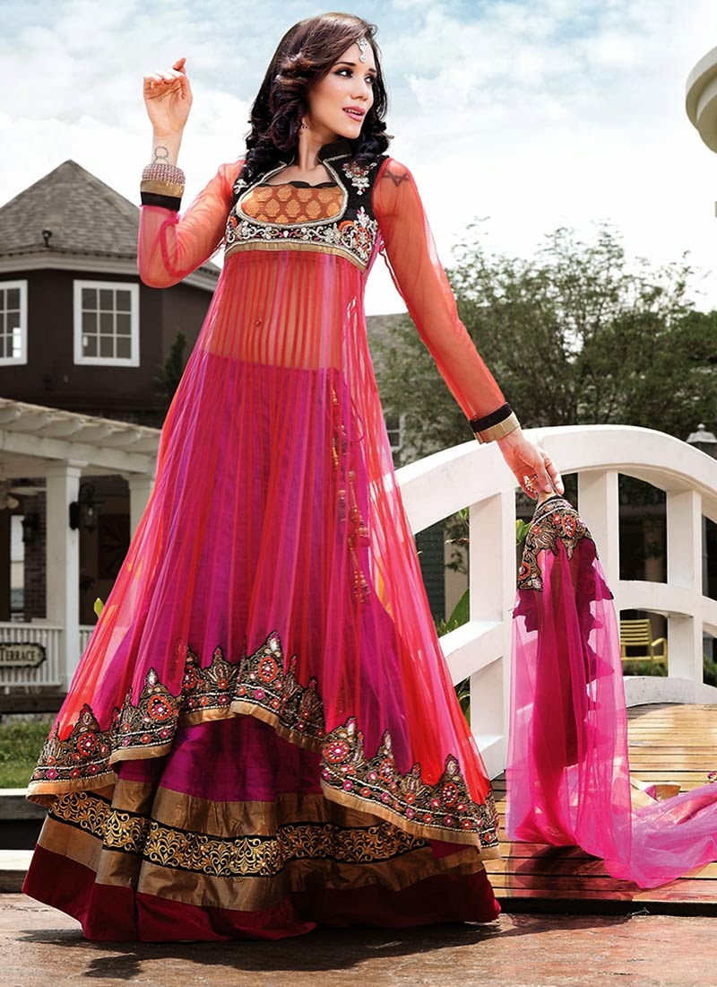 Bridal Wedding Lahenga Choli Beautiful Indian Dresses 2013 -9911