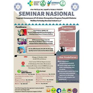 Seminar Nasional DPW IMATELKI DKI JAKARTA jilid VII Tahun 2019