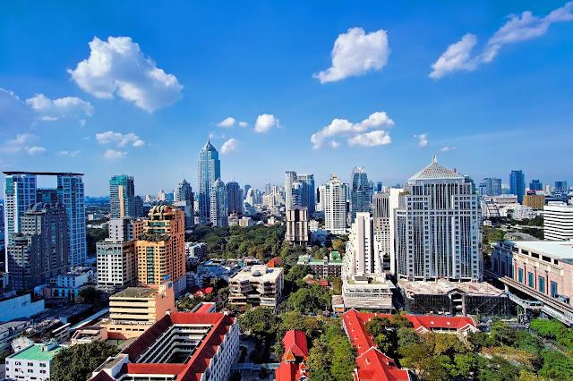 The weather of Bangkok Thailand