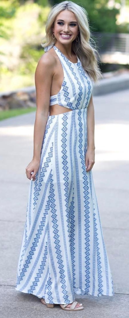 bohemian style outfit idea