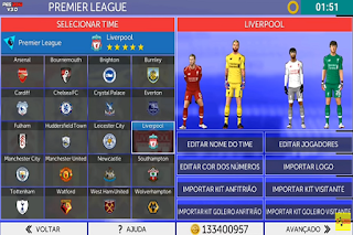 with the latest First Touch Soccer modern updates on Android devices Download  FTS Mod Pes 2019 v3.0 past times DL Gameplays Apk Data Obb
