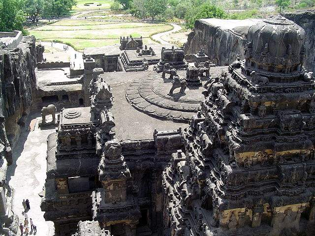 Ellora Caves is one of first sites recognized by UNESCO as the World Heritage