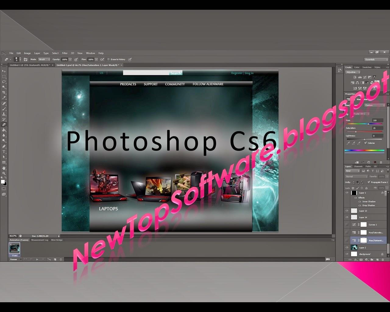 photoshop cs6 full version with crack