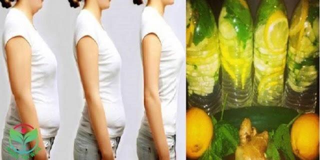 مشروب مدهش سيساعدك على التخلص من الدهون في البطن خلال 4 أيام فقط!