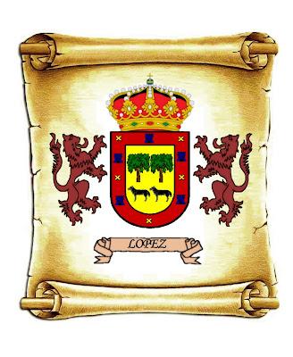 escudo heráldico Apellido lopez