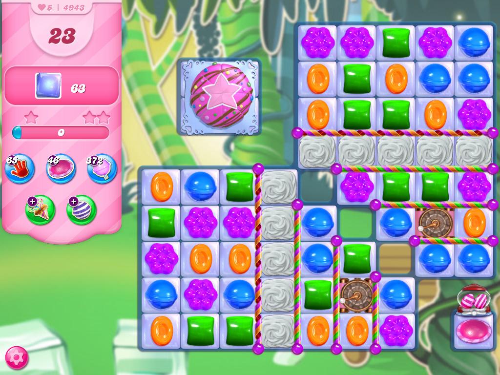 Candy Crush Saga level 4943