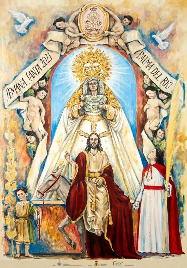 Palma del Río presenta su cartel de la Semana Santa de 2021