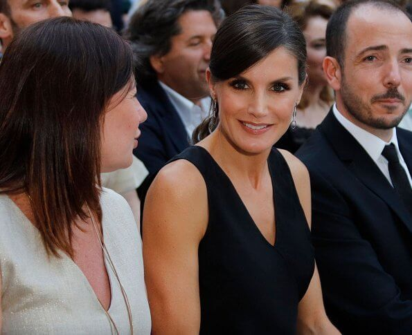 Queen Letizia presided over the opening ceremony of the ninth edition of the Atlàntida Film Fest