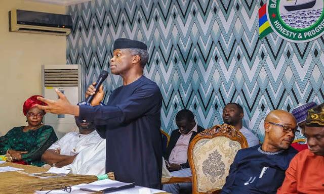 Allegded Fraud: Osinbajo denies receiving N4bn from Magu