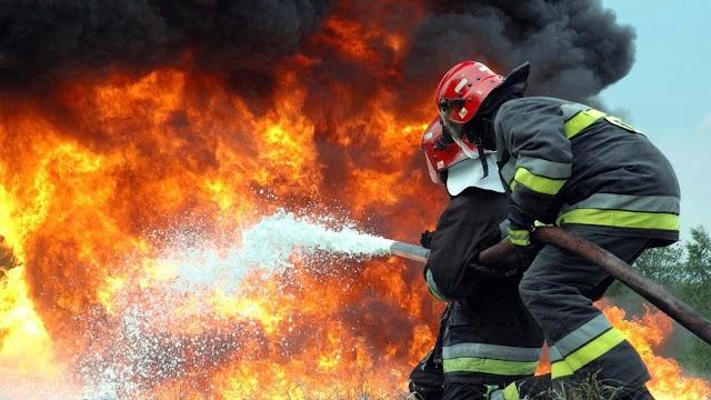 У перший день нового року на Обухівщині сталась пожежа