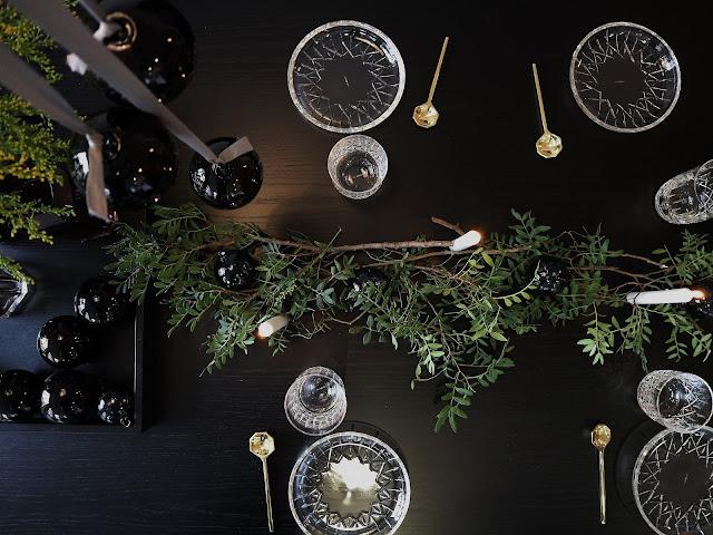 Noël / Christmas / Vaisselle / Cristal / 5 / Louise Roe Copenhagen /