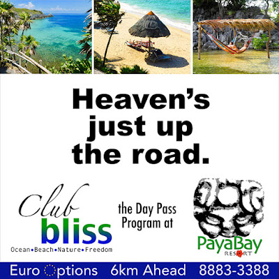 marketing, promotion, billboards, heaven, bliss, club bliss, #payabay, #payabayresort, paya bay resort,