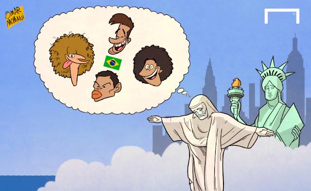 Jesus the Redeemer cartoon