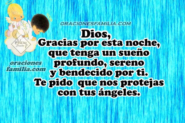 Oración para la noche con salmo 116, dormir tranquilo, oración antes de ir a descansar en la noche por Mery Bracho.