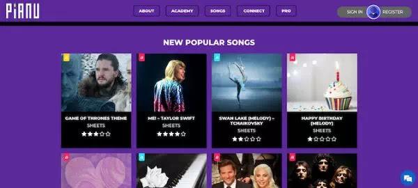 Situs Terbaik Untuk Belajar Piano Secara Online-2