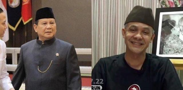 Lewat Empat Skenario, Nasib Prabowo Terbaca Mujur Jika Berpasangan Dengan Ganjar Ketimbang Puan