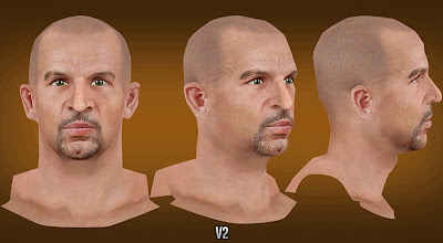 NBA 2K13 Jason Kidd Cyberface with goatee/beard