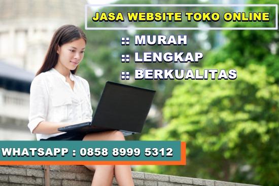 Jasa Pembuatan Website Toko Online Indonesia