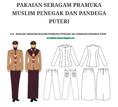 Pakaian Seragam Pramuka Siswi