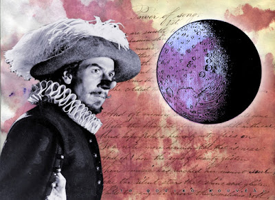 Κολλάζ για το Ταξίδι στη Σελήνη του Συρανό ντε Μπερζεράκ - το φονικό κουνέλι