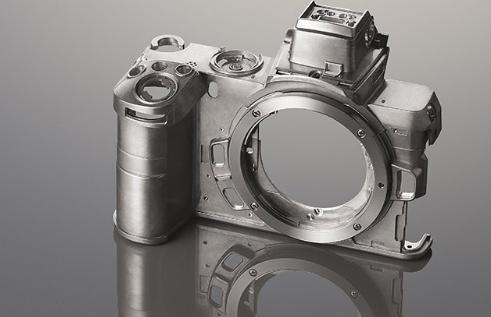 Корпус Nikon Z50 из магниевого сплава