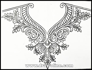 Maggam work Designs on Blouses,maggam work trace paper aari designs