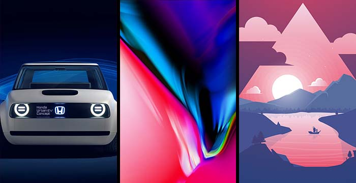 Download HD iPhone 8, 8 Plus & iPhone X Wallpapers