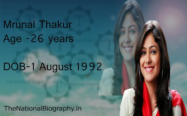 Mrunal Thakur | Biography | Age | Movie | Png | Wiki