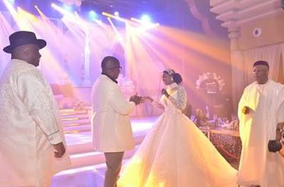 PHOTOS: Tinubu, Ekweremadu, Linda Ikeji, Lai, Kwankwaso Storm Emeka Offor Daughter's Wedding
