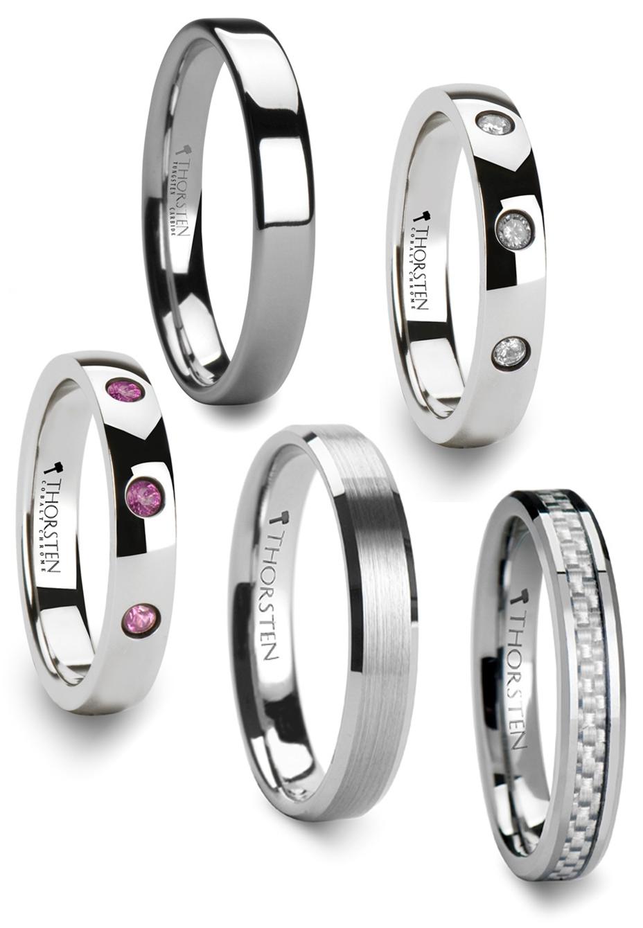 Unique Tungsten Wedding Rings Characteristics Of Tungsten