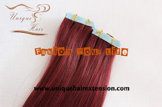 99J tape hair extensions
