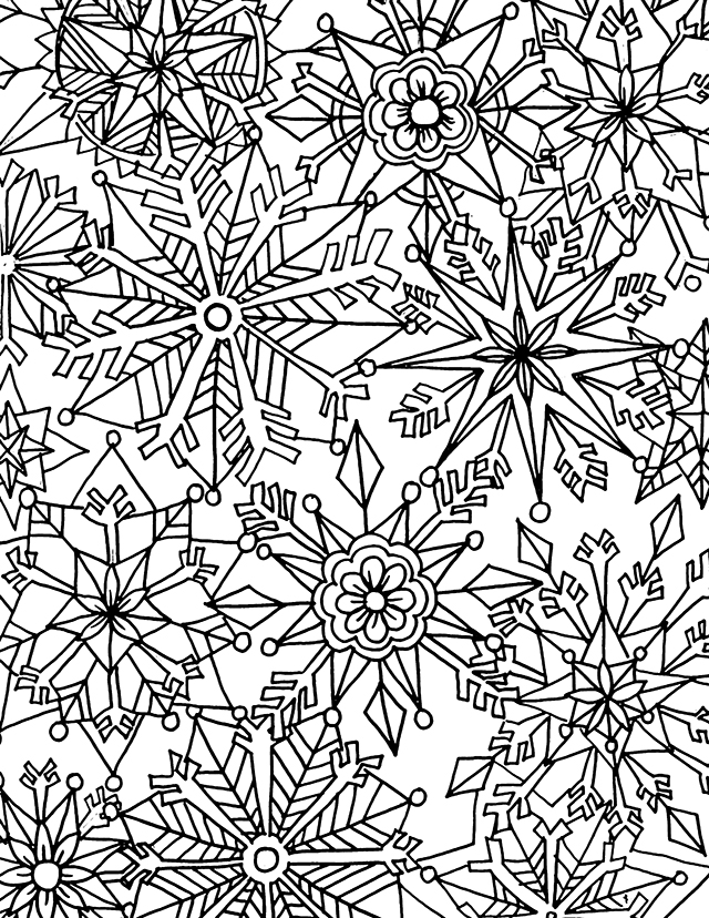 coloring pages winter holiday | alisaburke: downloads for you!
