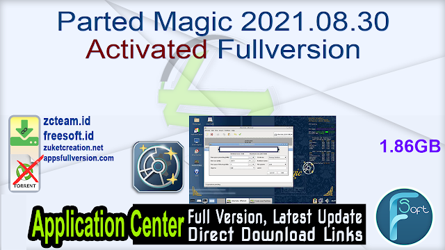 Parted Magic 2021.08.30 Activated Fullversion
