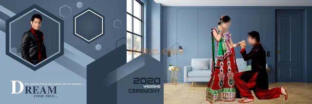New 2020 12x36 Wedding Album DM Vol 17