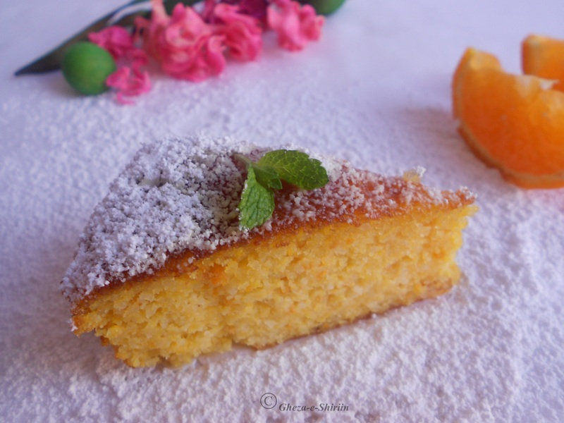 Moroccan Orange And Almond Cake Gluten Free