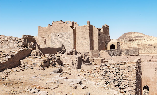 Monasterio de San Simeon en Aswan
